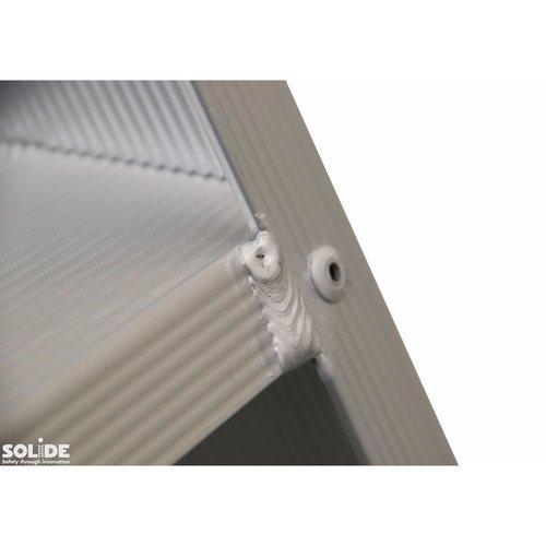 Solide Bordestrap Type PT enkel 1x6 treden inclusief platform