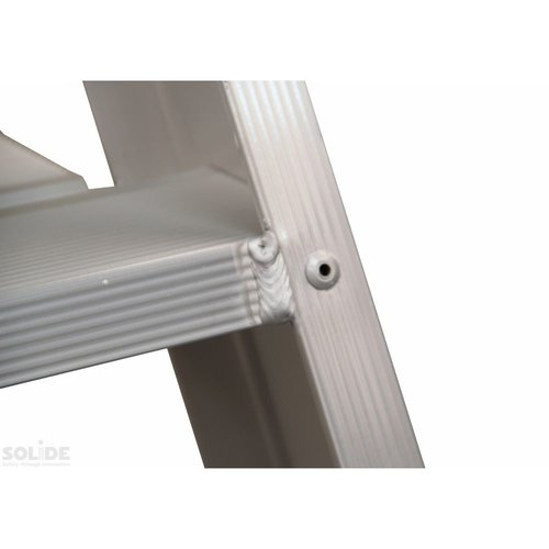 Solide Bordestrap Type PT enkel 1x10 treden inclusief platform