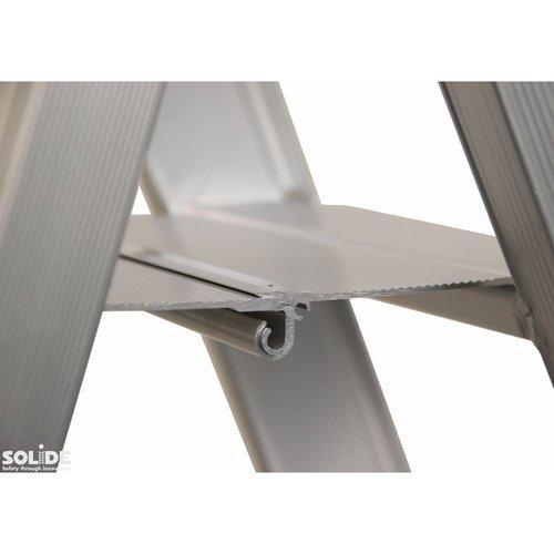 Solide Trap Type DT dubbel 2x4 treden inclusief platform