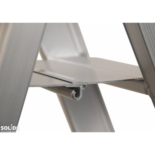 Solide Trap Type DT dubbel 2x10 treden inclusief platform