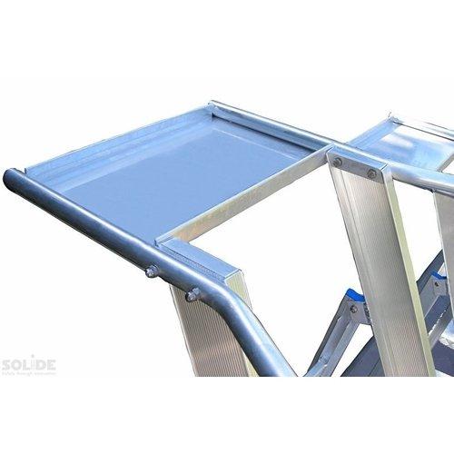 Solide Plooibaar Mobiel Platform Type PMP10 1x10 treden
