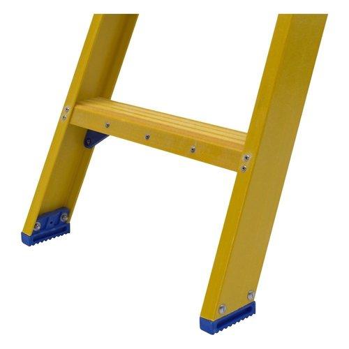 Staltor Bordestrap glasvezelversterkt enkel 1x5 treden inclusief platform