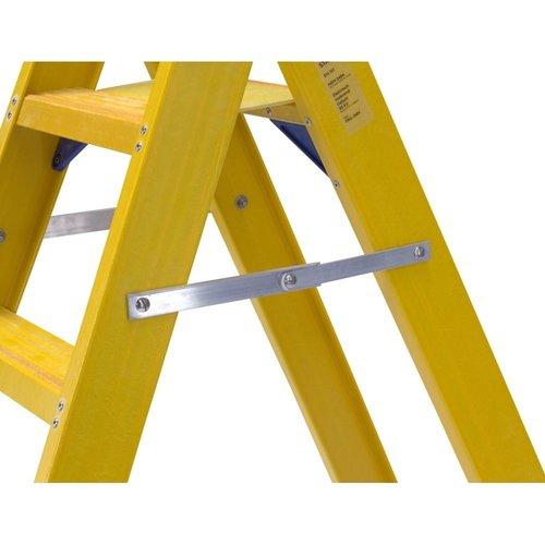Staltor Bordestrap glasvezelversterkt enkel 1x6 treden inclusief platform