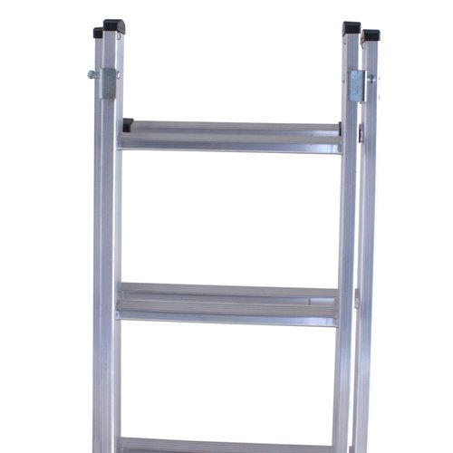Euroline Ladder dubbel recht 2x12 sporten