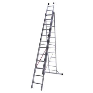 Euroline Euroline Ladder driedelig recht 3x10 sporten