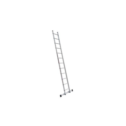 Euroline Euroline Ladder enkel recht 1x12 sporten + stabiliteitsbalk