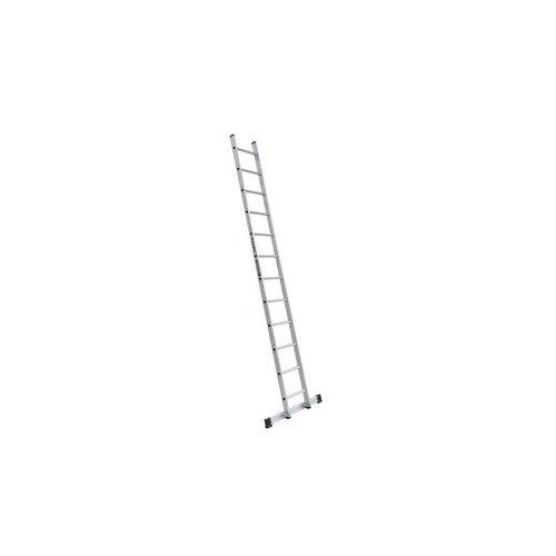 Euroline Euroline Ladder enkel recht 1x18 sporten + stabiliteitsbalk