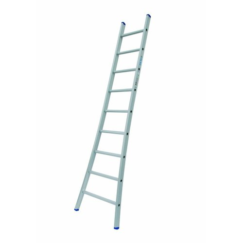 Solide Solide Ladder Type A09 enkel uitgebogen 1x9 sporten