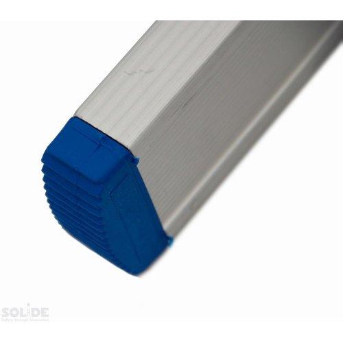 Solide Ladder Type A09 enkel uitgebogen 1x9 sporten