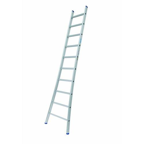 Solide Ladder Type A10 enkel uitgebogen 1x10 sporten