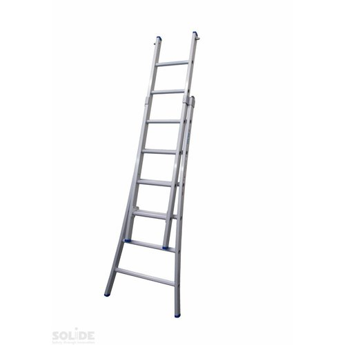 Solide Solide Ladder Type C gecoat dubbel uitgebogen 2x6 sporten