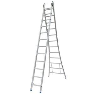 Solide Solide Ladder Type CB dubbel uitgebogen 2x12 sporten