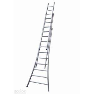 Solide Solide Ladder Type DB driedelig uitgebogen 3x10 sporten