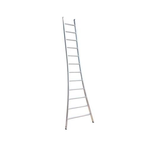 Eurostairs Eurostairs Ladder enkel uitgebogen 1x6 sporten