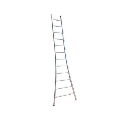 Eurostairs Eurostairs Ladder enkel uitgebogen 1x8 sporten