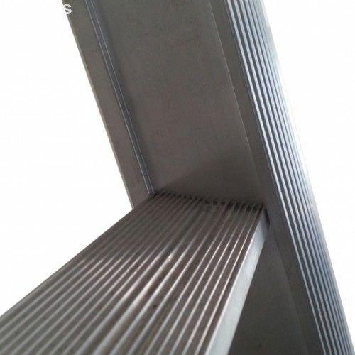 Eurostairs Eurostairs Reform ladder driedelig uitgebogen 3x7 sporten