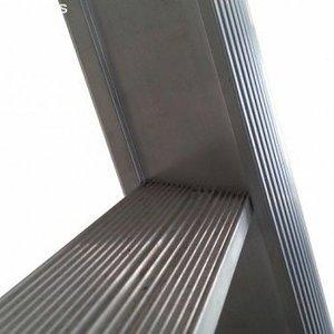 Eurostairs Eurostairs Reform ladder driedelig uitgebogen 3x12 sporten + gevelrollen