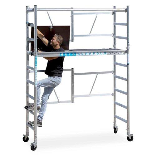 Euroscaffold Combi kamersteiger 75x190x4m werkhoogte
