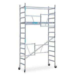 Euroscaffold Combi kamersteiger 75x190x4,7m werkhoogte