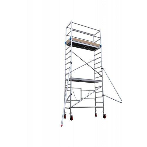 Euroscaffold Vouwsteiger 75x190x5,8m werkhoogte