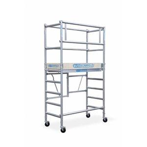 Euroscaffold Compact kamersteiger module 1+2 75x150x3,5m werkhoogte