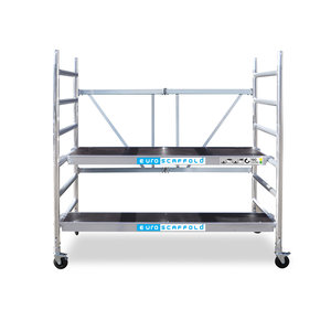 Euroscaffold Kamersteiger 90x190x3m werkhoogte + platform 30 cm