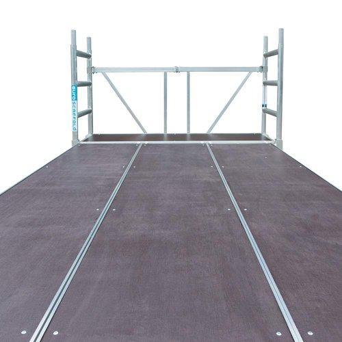 Euroscaffold Stukadoors werkplatform 190x455x3m werkhoogte
