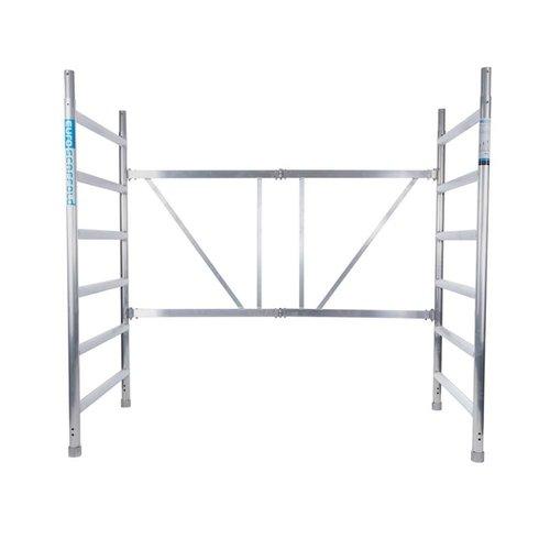 Euroscaffold Combi kamersteiger 90x190x4,7m werkhoogte
