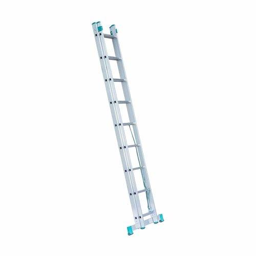 Eurostairs Eurostairs home reform ladder dubbel recht 2x9 sporten