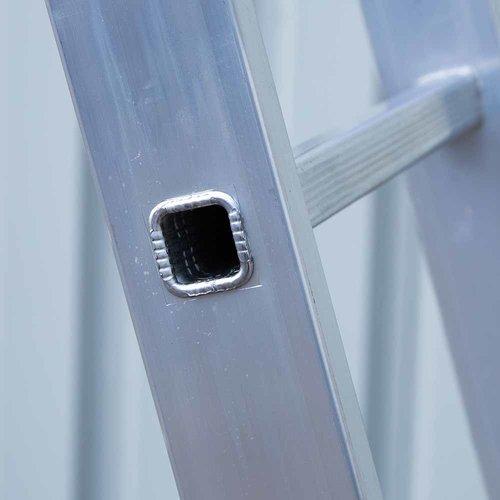 Eurostairs Eurostairs home reform ladder driedelig recht 3x8  sporten