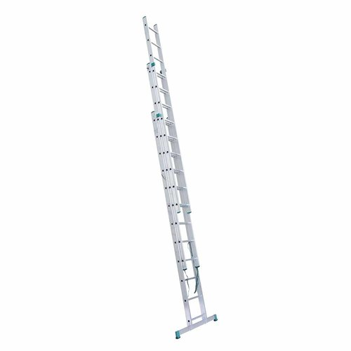 Eurostairs Eurostairs home reform ladder driedelig recht 3x12 sporten