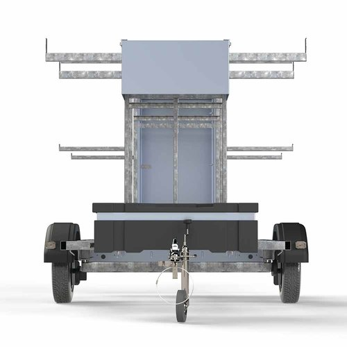 Euroscaffold Steigertransporter 250 model afsluitbaar