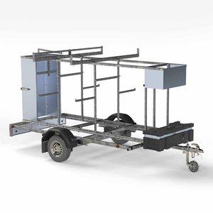 Euroscaffold Steigertransporter 305 model afsluitbaar