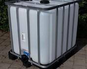 Werit IBC Wassertank gereinigt