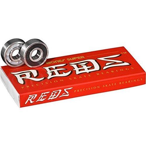 Bones® Bearings Super REDS® Bearings - 8pk