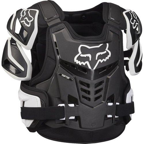 Fox Raptor Vest - Black/White
