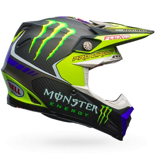 Bell® Moto-9 Flex Monster Pro Circuit 17