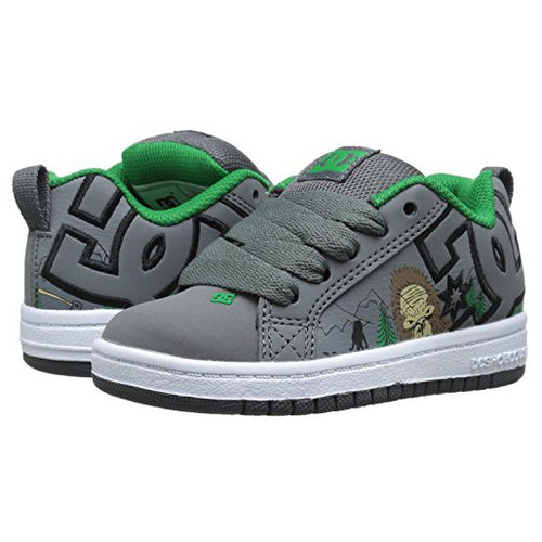 DC® Youth Court Graffik SE - Green/Grey