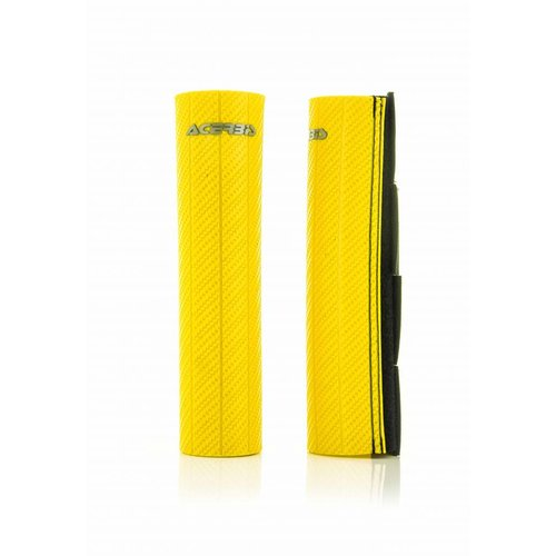 Acerbis Upper Fork Covers- Yellow