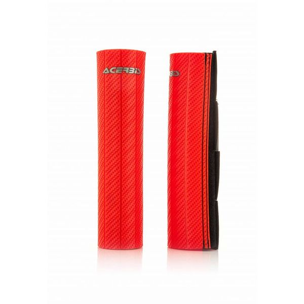 Acerbis Upper Fork Covers - Red