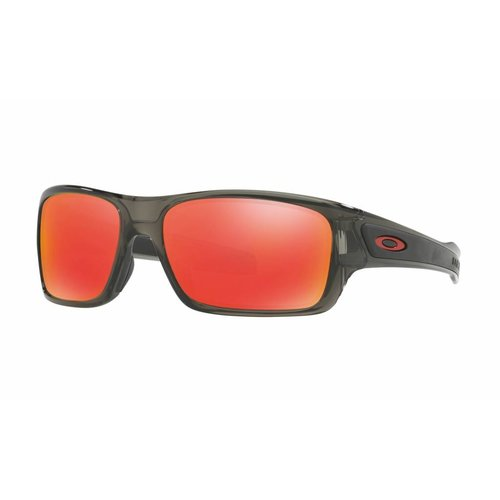 Oakley Turbine XS (Youth Fit) - Grey Smoke/Ruby
