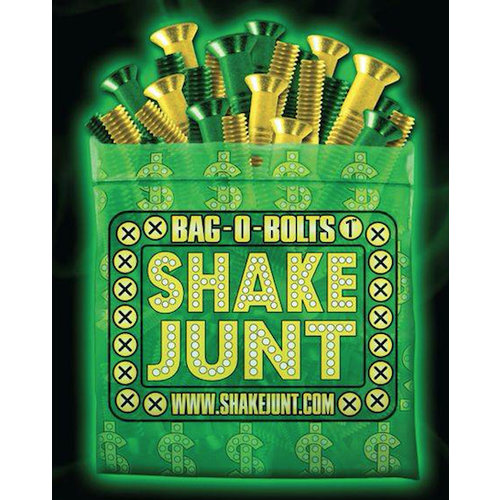 "Bag-O-Bolts 1"" - Green/Yellow"