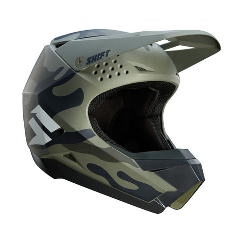 Shift Whit3 Label Helmet - Camo