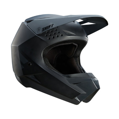 Shift Whit3 Label Helmet - Matte Black