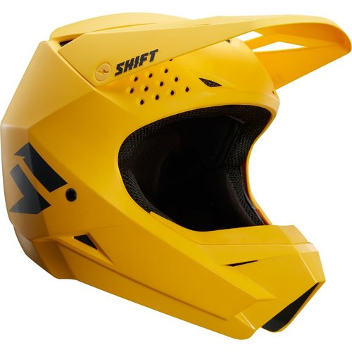 Shift Whit3 Label Helmet - Yellow