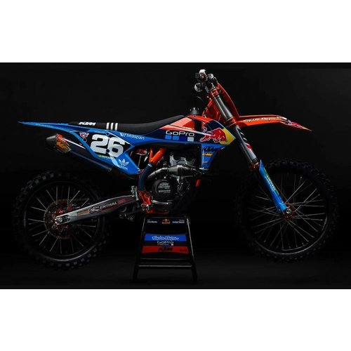 Acerbis TLD McQueen Limited Edition KTM Plastic Kit