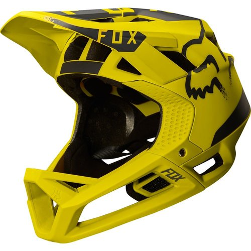Fox Proframe Moth Helmet - Dark Yellow