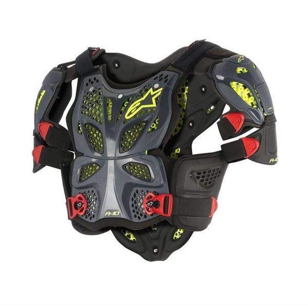 Alpinestars A-10 Full Chest Protector - Black/Anthracite