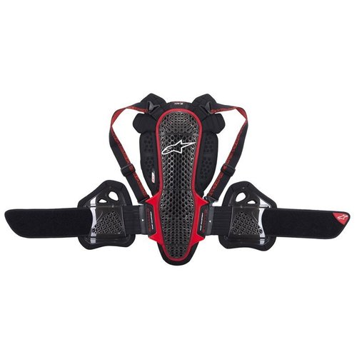 Alpinestars Nucleon KR-3 - Smoke/Red