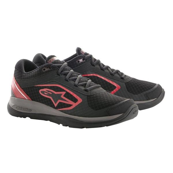 Alpinestars Alloy Shoe - Black/Red